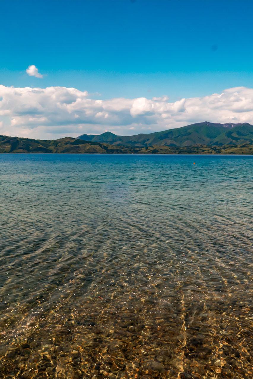 田沢湖風景