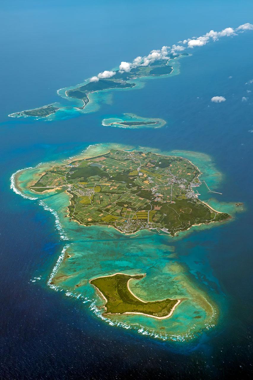 伊是名島と伊平屋島