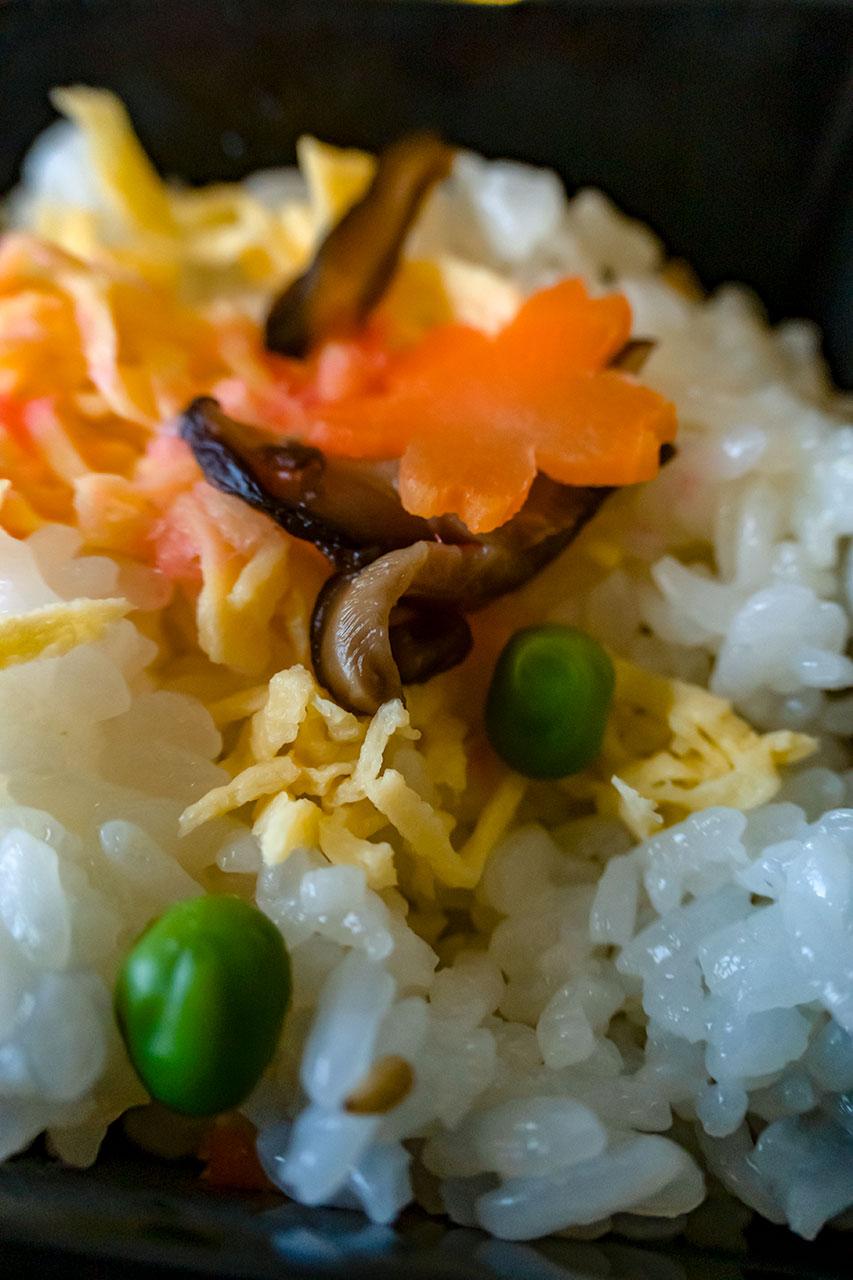 プレミアム御膳 ちらし寿司