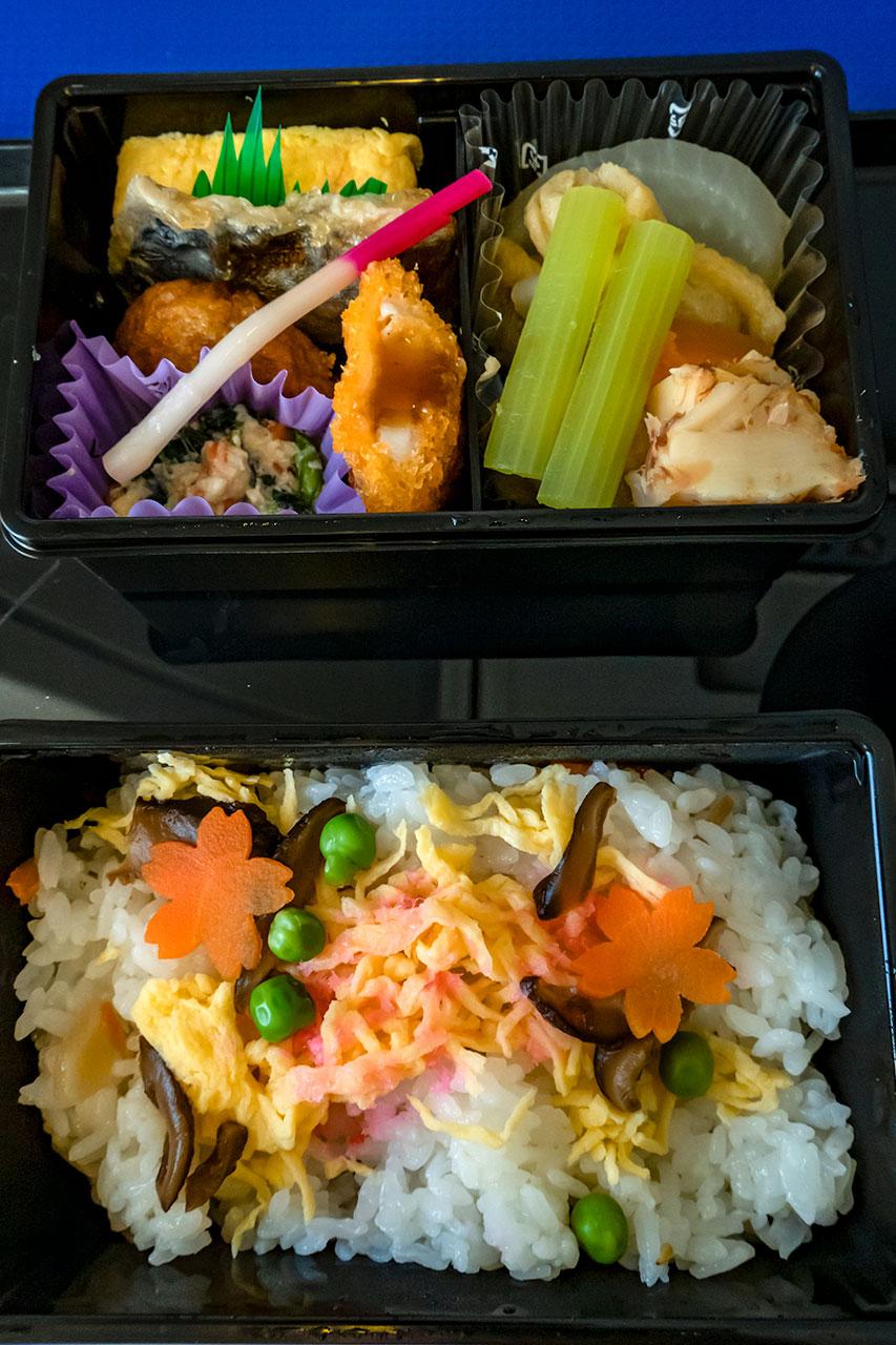 プレミアム御膳 おかずとチラシ寿司
