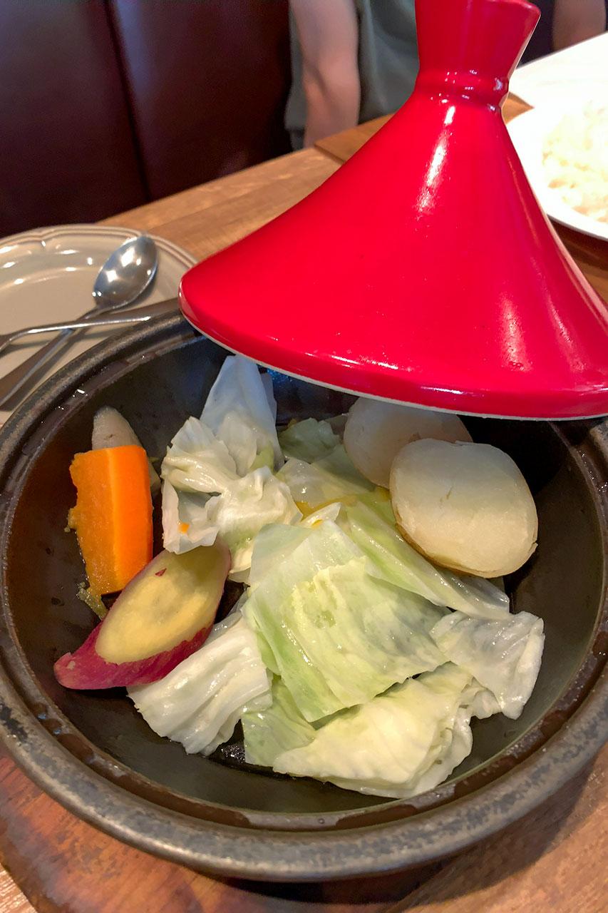 野菜タジン鍋