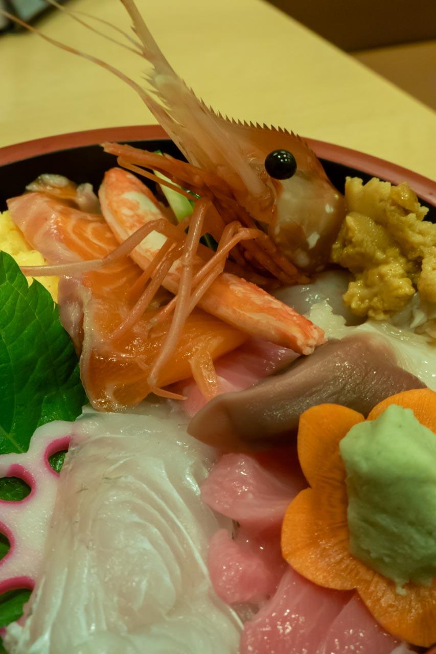北海道 旭川空港 よし寿司 特上チラシ寿司