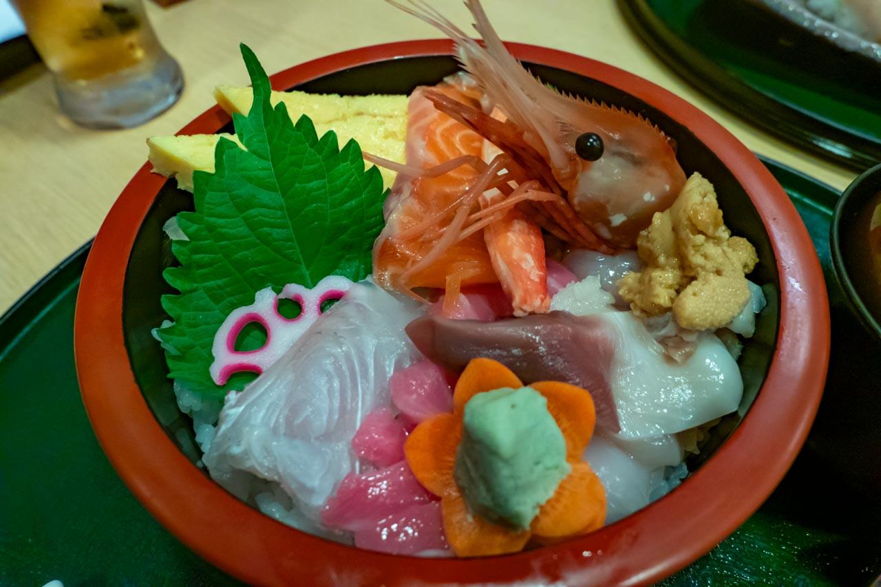 よし寿司ちらし