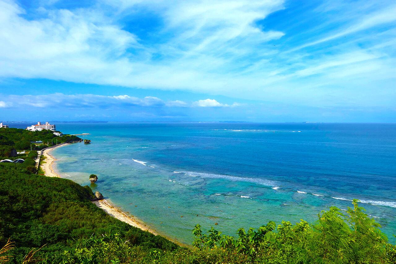 沖縄本島南部東海岸