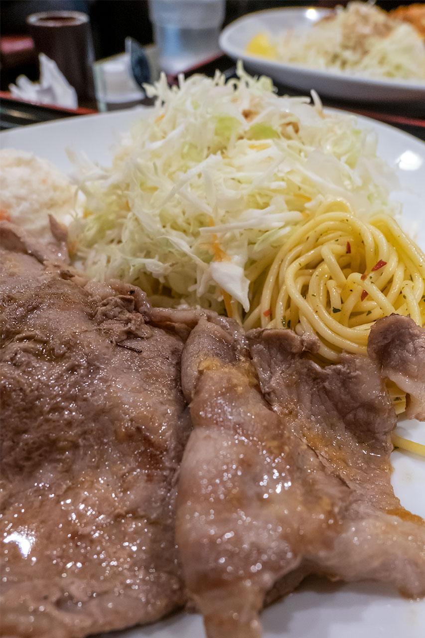 東京厨房 生姜焼き