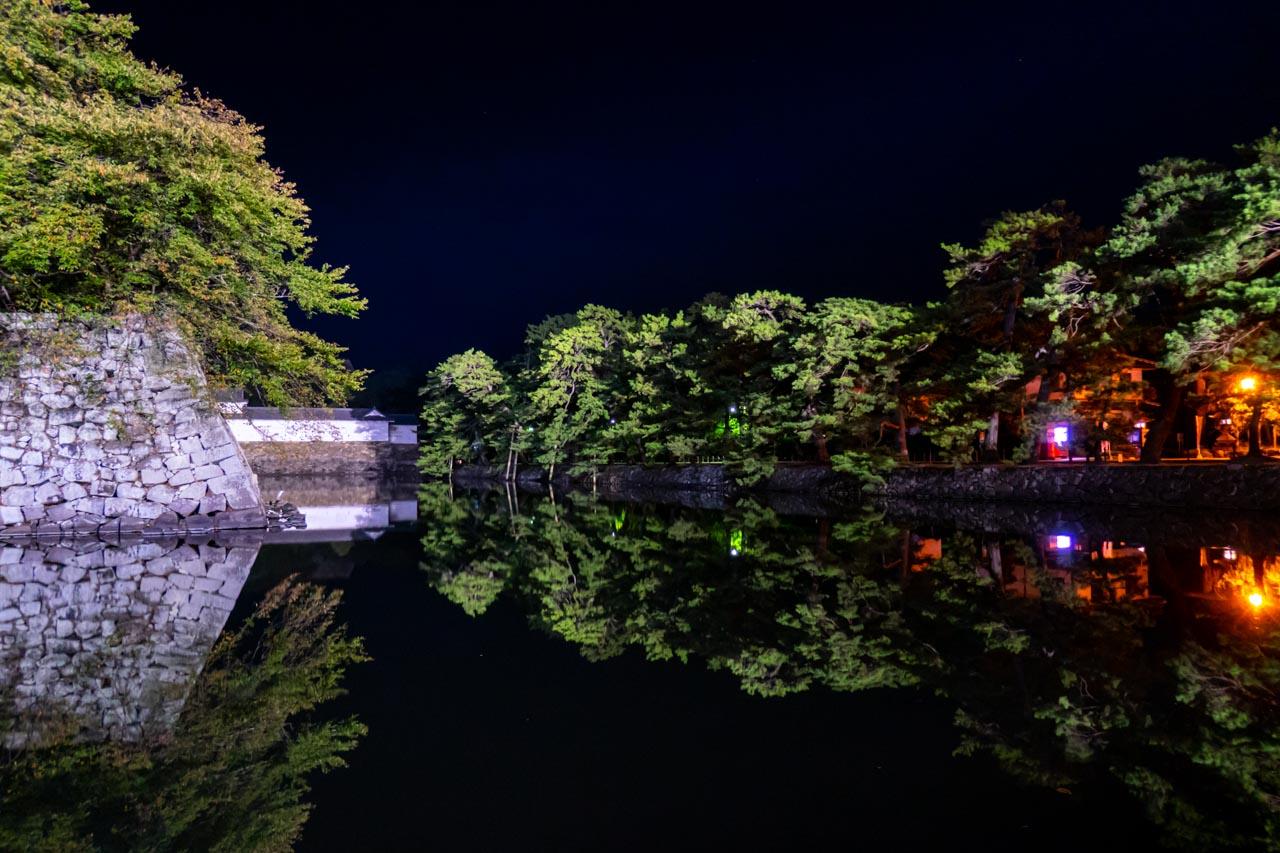 彦根城 いろは松