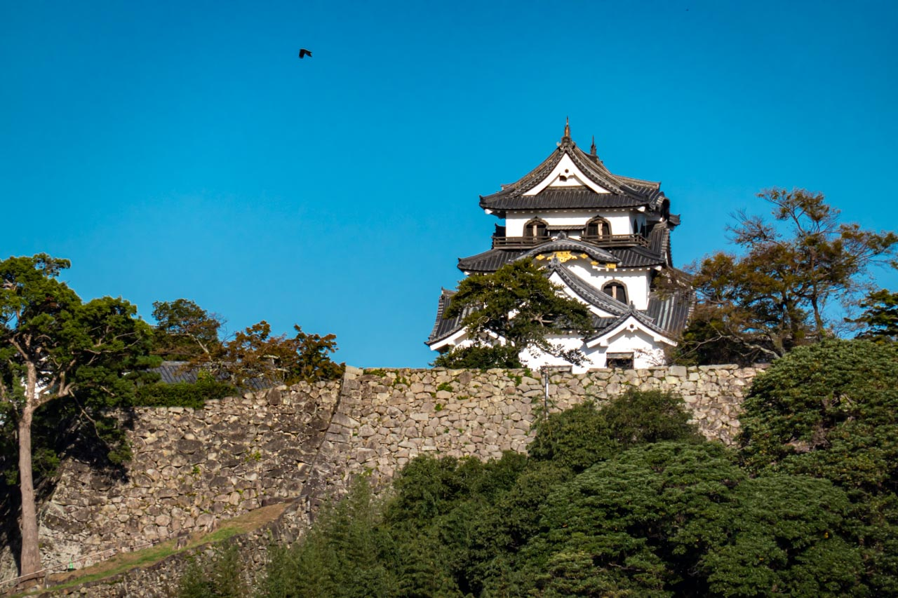 彦根城天守閣 昼間と周辺