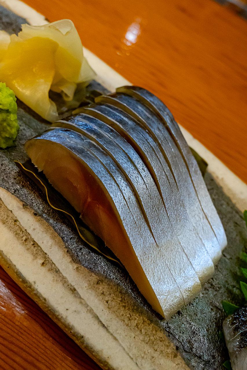 宮城県石巻市 sushi bar 樹琳 地魚を堪能する
