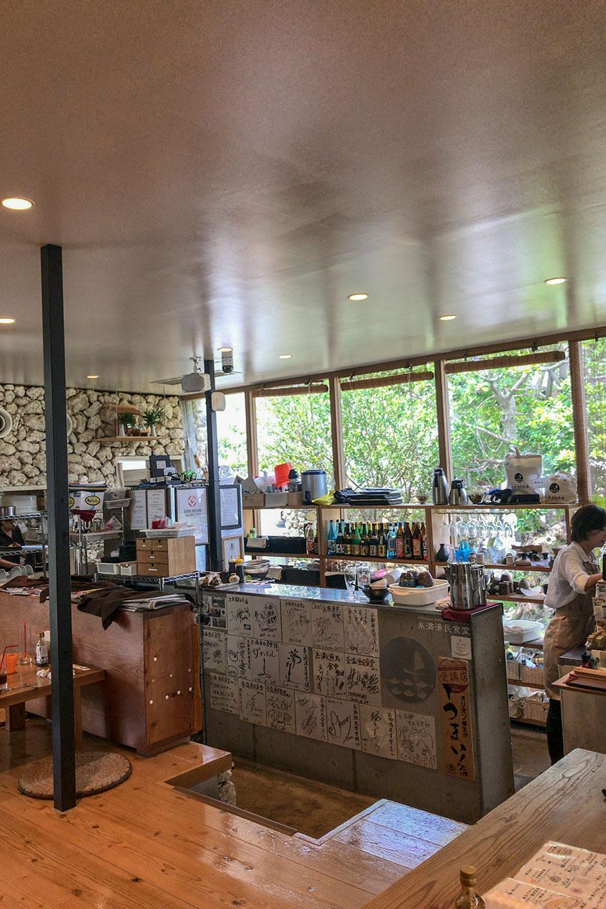 糸満漁民食堂キッチン