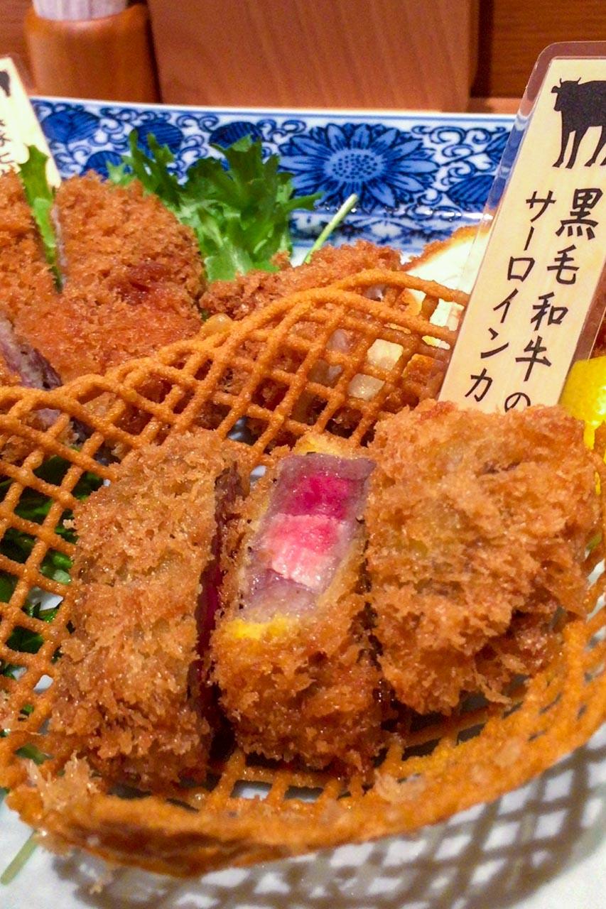 寿庵中央駅バスチカ店 鹿児島デカツレツヲアジワフ