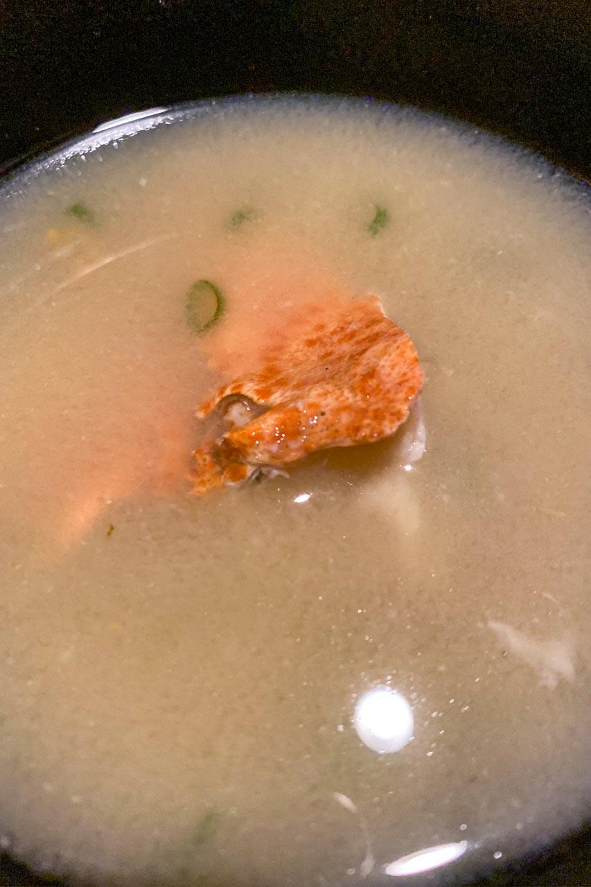 エビの味噌汁