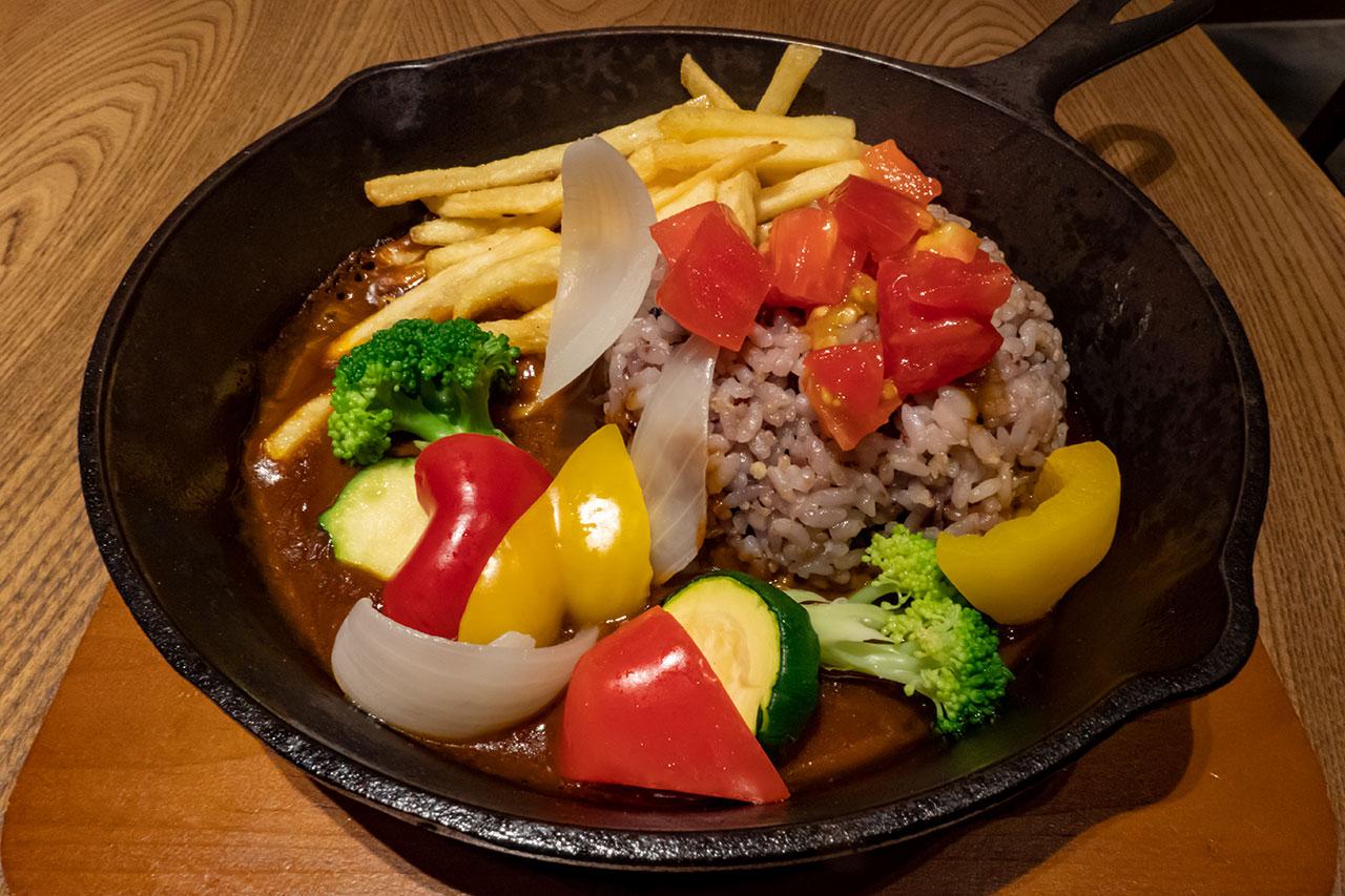 一日分の野菜の鉄板カレー