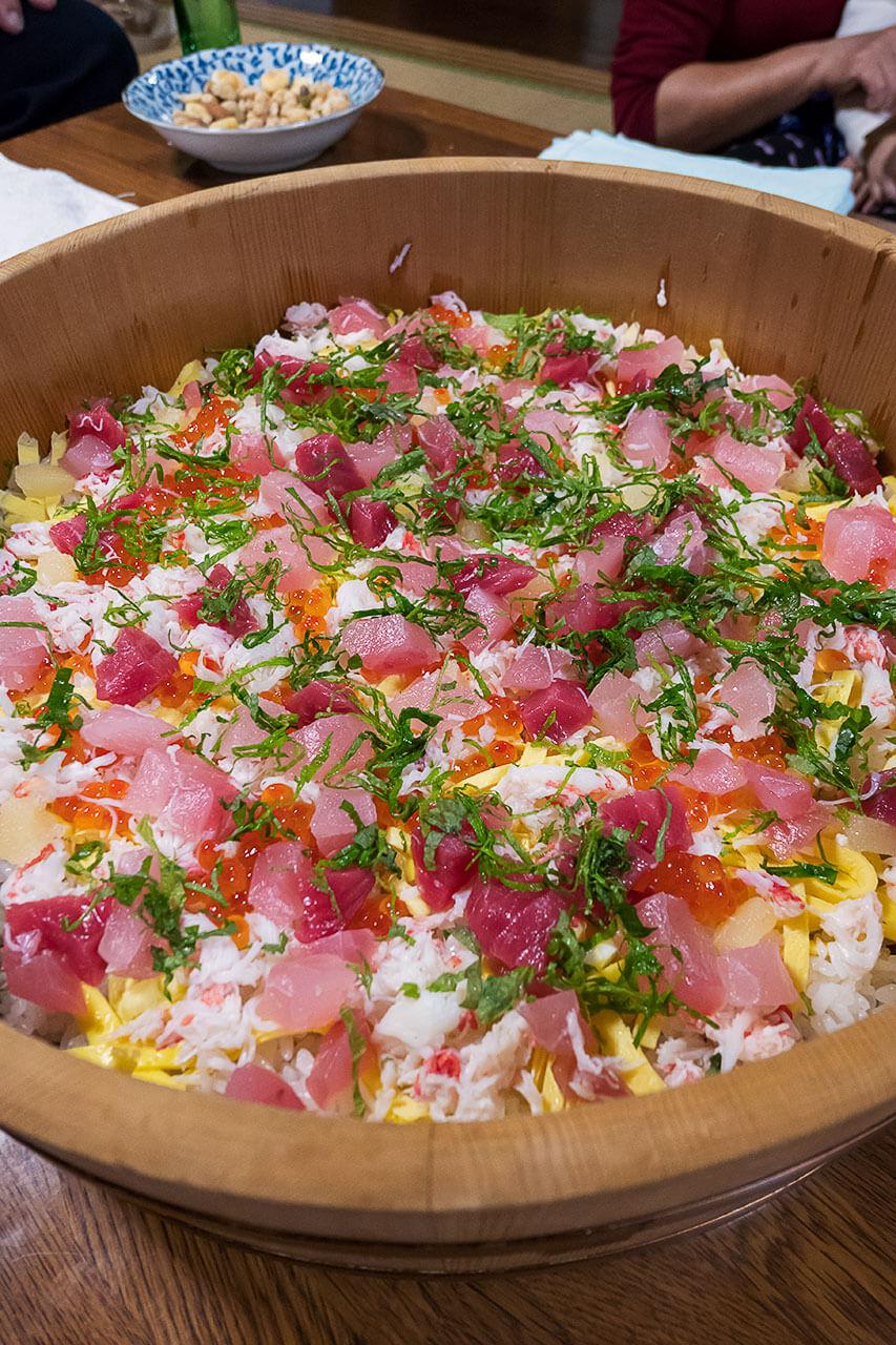バラチラシ寿司
