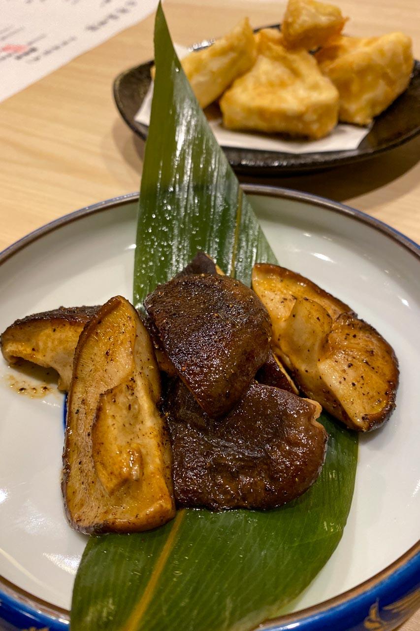 椎茸バター焼き