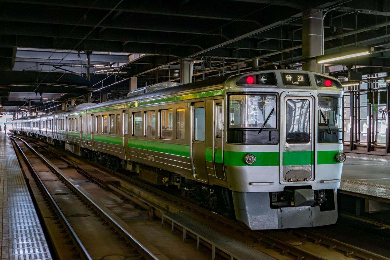 721系 函館本線 普通電車