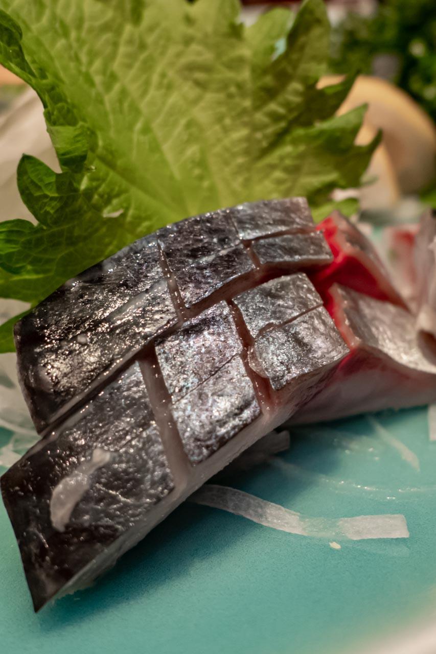 宮城県 仙台駅 みのむし つぶ貝と三陸地魚の刺身
