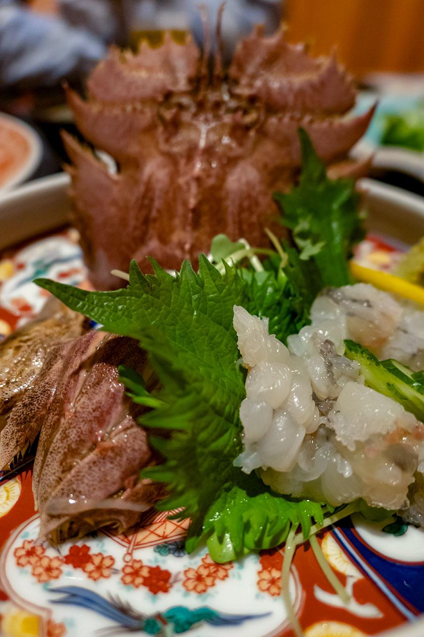 長崎市 思案橋駅 呑 クジラ肉・アサヒ蟹・ステーキ