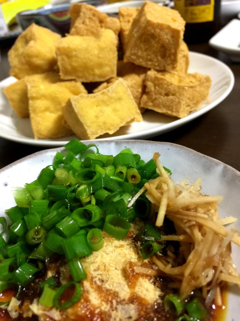 揚げ島豆腐