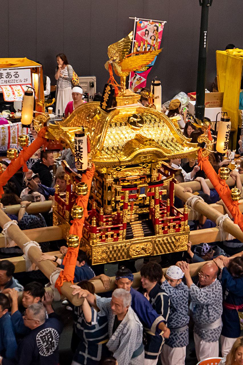 北海道札幌市 夏 すすきの祭り