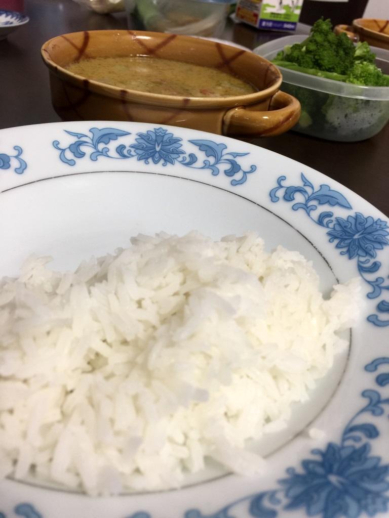 タイ米を炊いてみた