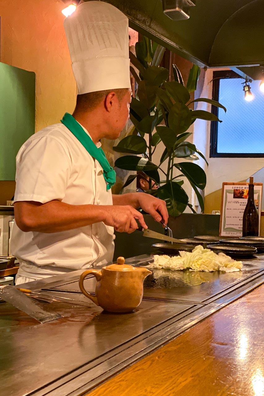 野菜焼き調理