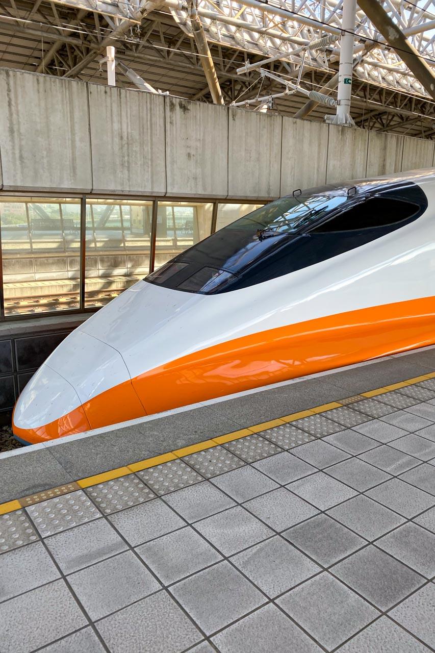 台湾新幹線~桃園MRT 台中から桃園空港へ