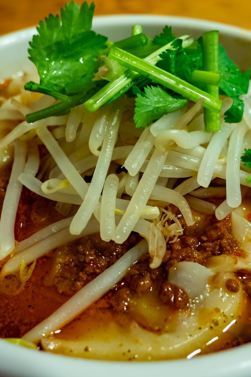 長安刀削麺 麻辣刀削麺